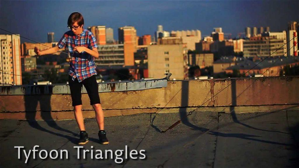 Трюк с йо-йо Tyfoon Triangles