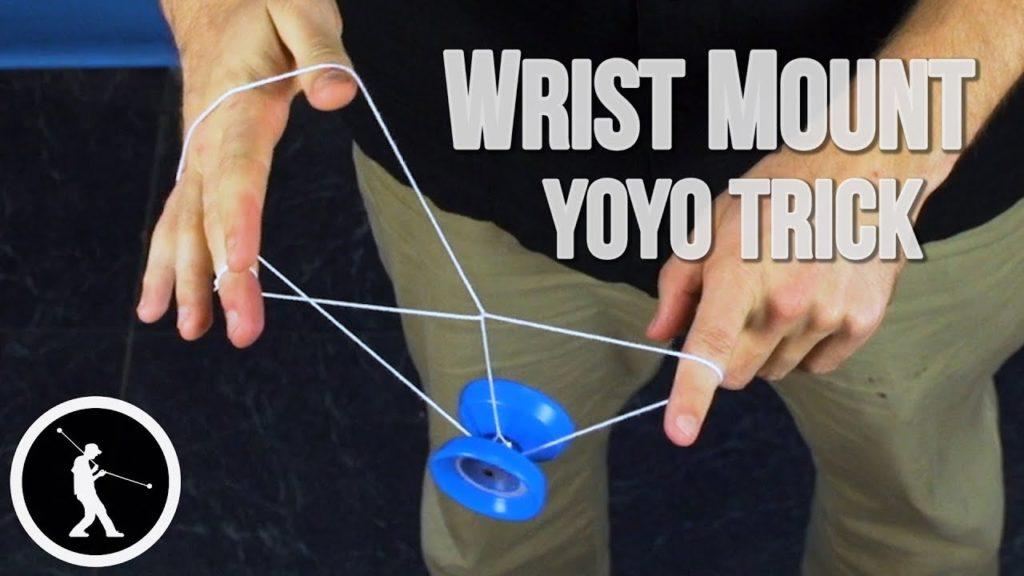 Wrist Mount 1A Yoyo Trick